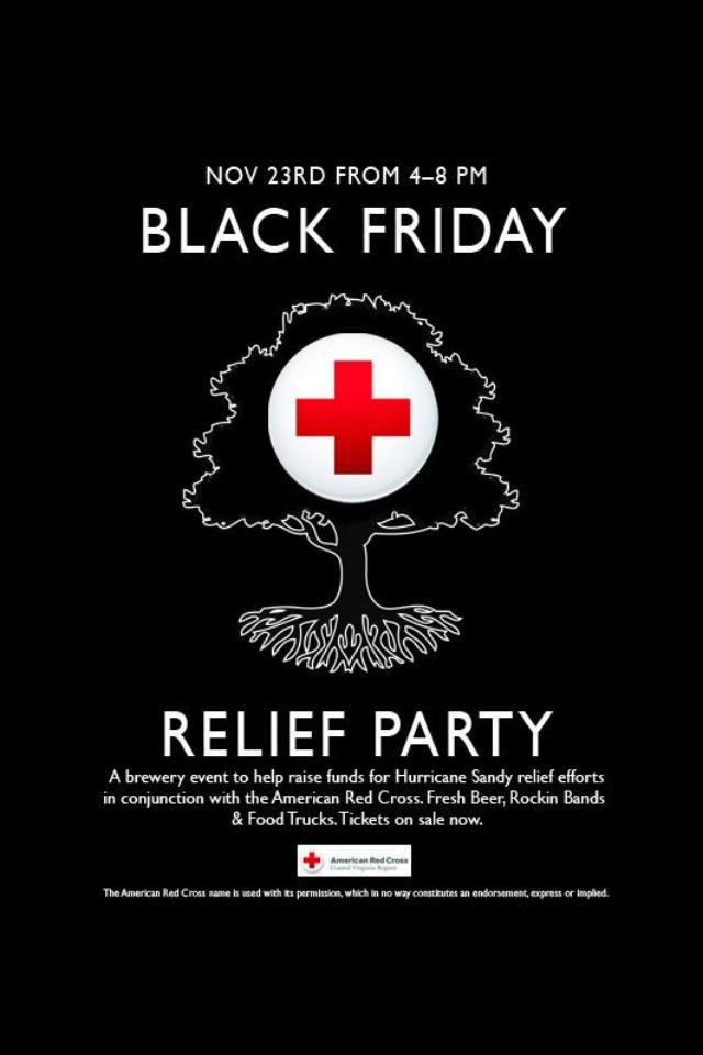 Black Friday Relief Party